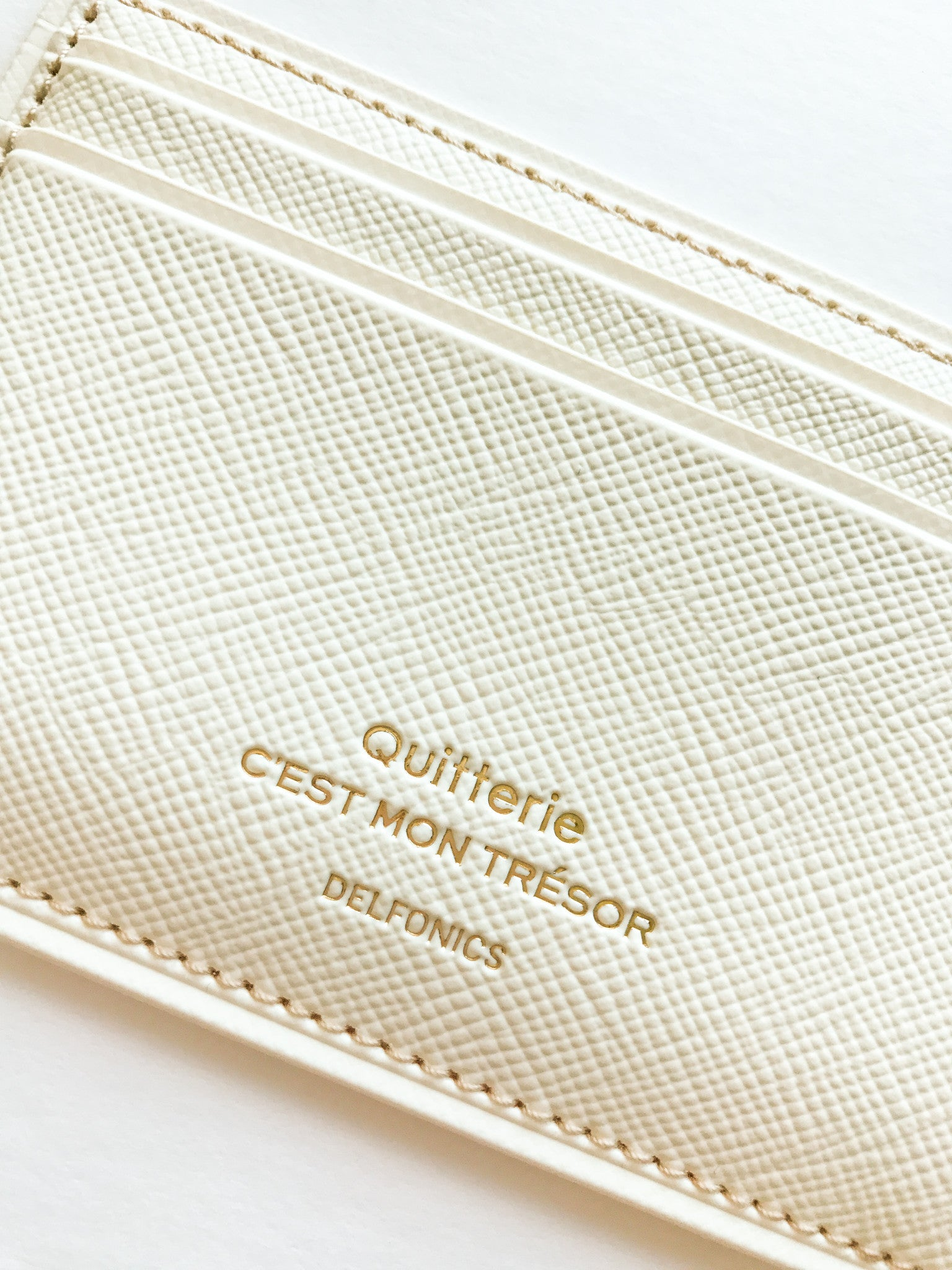 Quitterie Wallet - Wynwood Letterpress  - 3