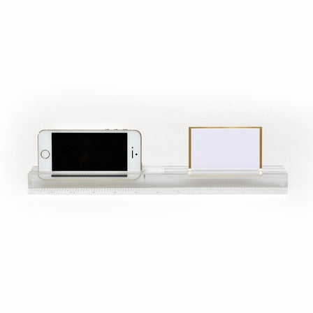 Acrylic Phone Dock + Ruler - Wynwood Letterpress