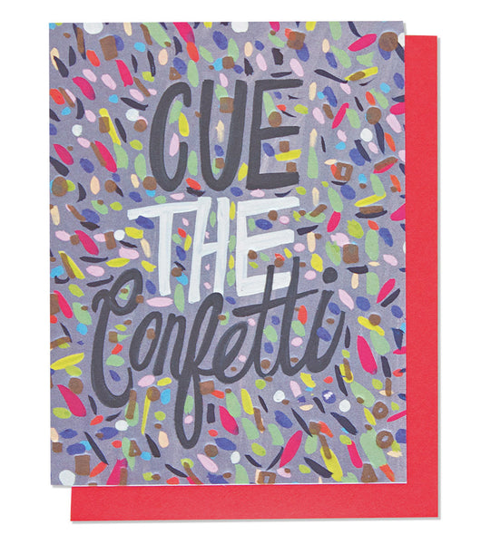 Cue the Confetti - Wynwood Letterpress