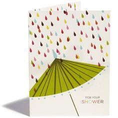 Umbrella Shower - Wynwood Letterpress