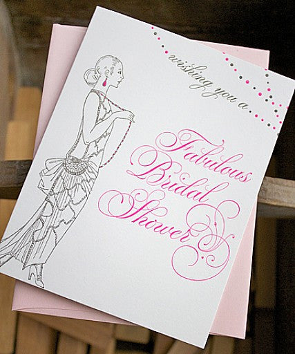 Fabulous Bridal Shower - Wynwood Letterpress