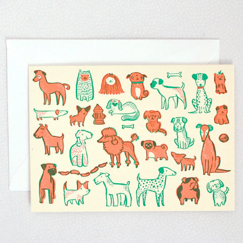 Pups-Single Cards - Wynwood Letterpress