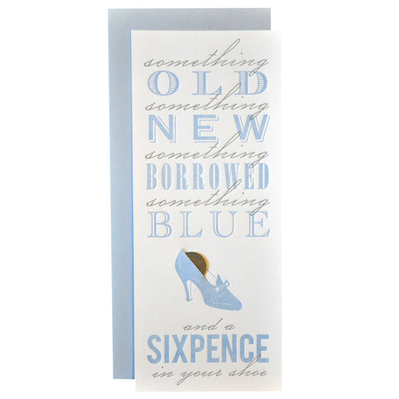 Sixpence Card - Wynwood Letterpress