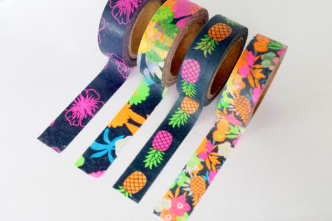 Tropical Washi Tape - Wynwood Letterpress  - 1