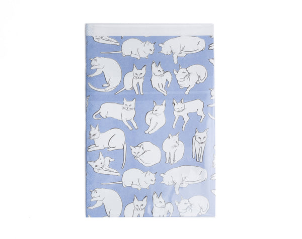 Cat Newsprint Gift Wrap - Wynwood Letterpress  - 3