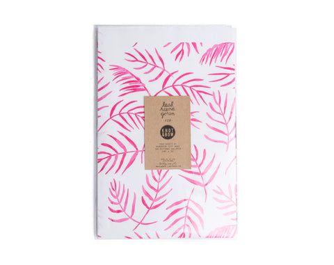 Floral Newsprint Gift Wrap - Wynwood Letterpress  - 1