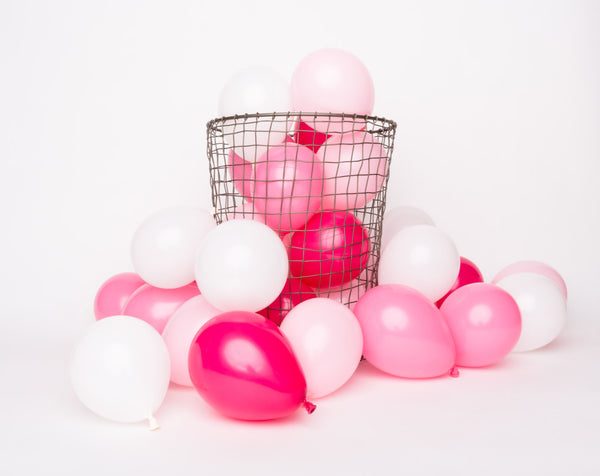Pink Mix Mini Balloons - Wynwood Letterpress  - 1