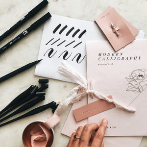 Modern Calligraphy Workshop :: SATURDAY, OCTOBER 21ST @ 10AM