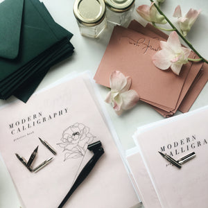 Modern Calligraphy Workshop :: SATURDAY, SEPTEMBER 9TH @ 10AM