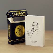 Joseph Conrad Cigarette Box Books - Wynwood Letterpress