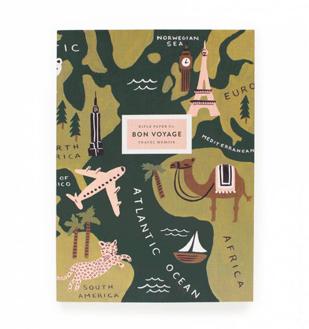 Bon Voyage Travel Journal - Wynwood Letterpress  - 1