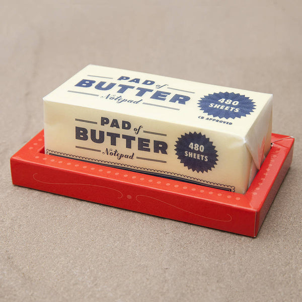 Pad of Butter - Wynwood Letterpress  - 1