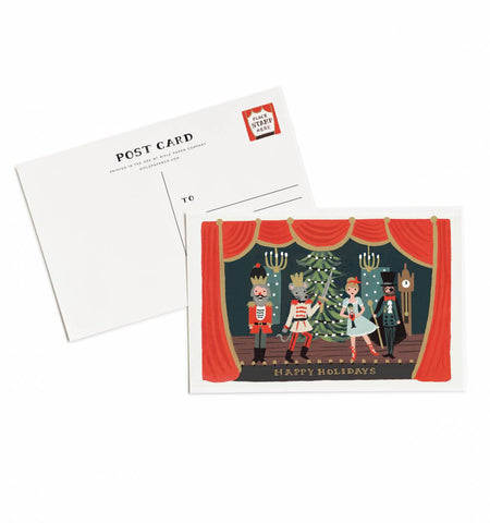 Nutcracker Scene Postcards - Wynwood Letterpress  - 1