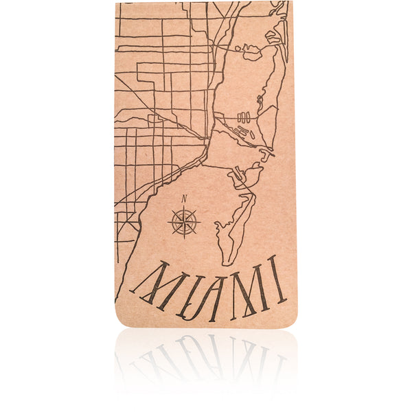Miami Notepad - Wynwood Letterpress