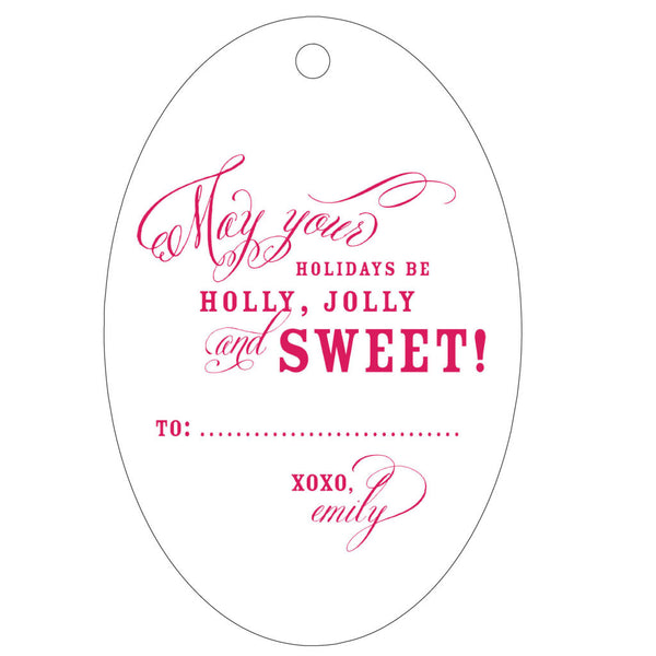 Personalized Letterpress Gift Tag - T64 - Wynwood Letterpress  - 2