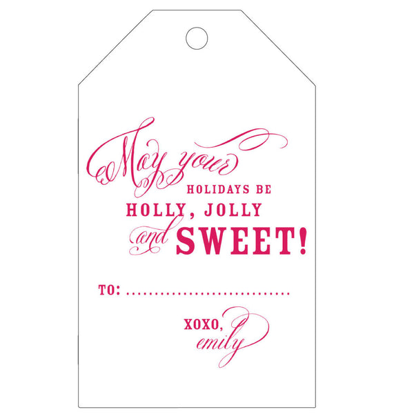 Personalized Letterpress Gift Tag - T64 - Wynwood Letterpress  - 3