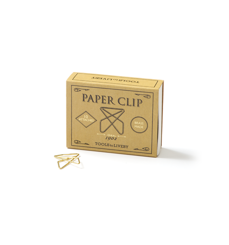 Brass Paper Clips - Ideal