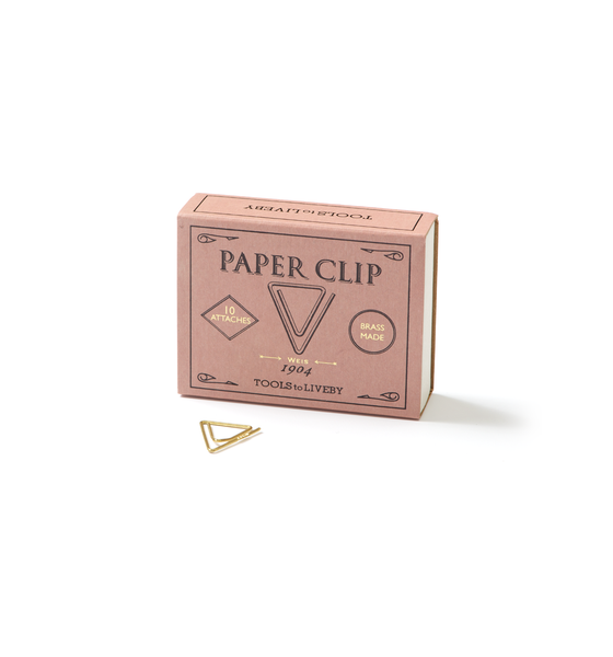 Brass Paper Clips - Weis - Wynwood Letterpress