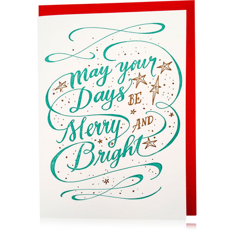 Merry and Bright Boxed Set - Wynwood Letterpress