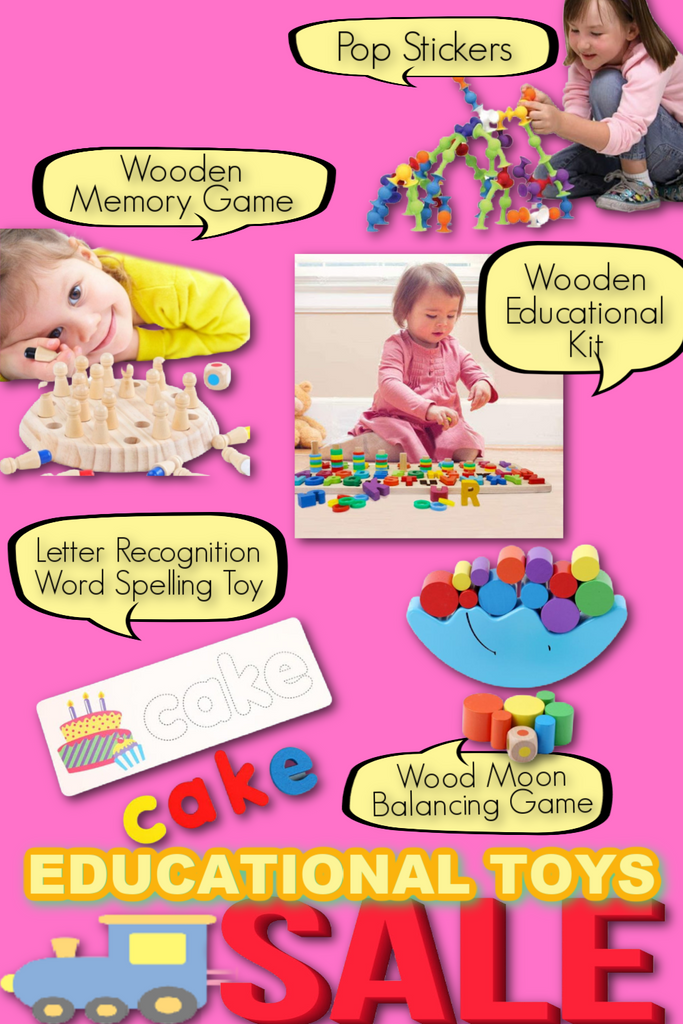 TheKiddiCo Educational Toys to help improve your kids development.