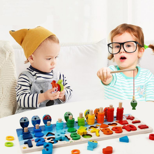 Gramway-Wooden Educational Kit - TheKiddiCo