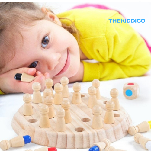 MemoryMatch - Wooden Memory Game - TheKiddiCo