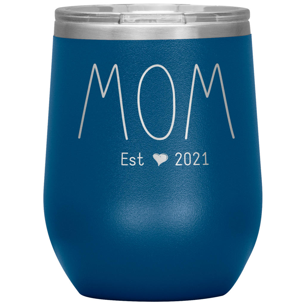 New Mom Gifts Ideas - First Time Mom Est. 2021 - TheKiddiCo