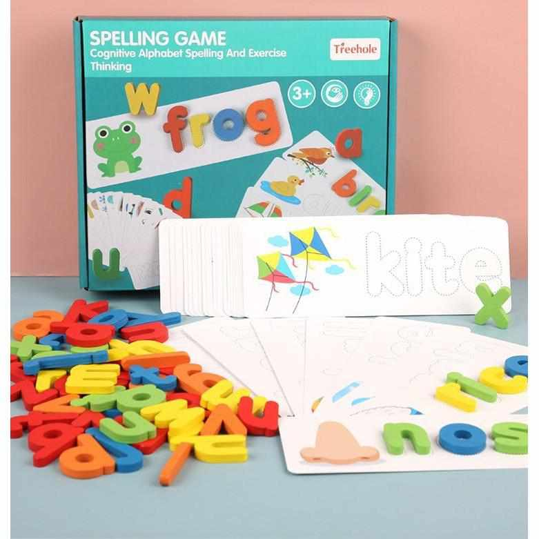 Lettylem- Letter Recognition Word Spelling Toy - TheKiddiCo