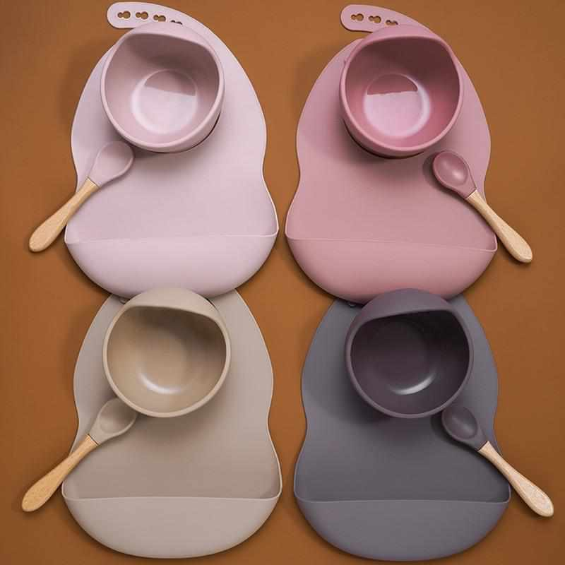 Silicone Baby Self Feeding Sets