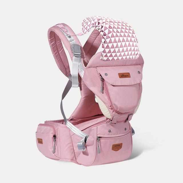 6 in 1 Hipseat Ergonomic Baby Carrier