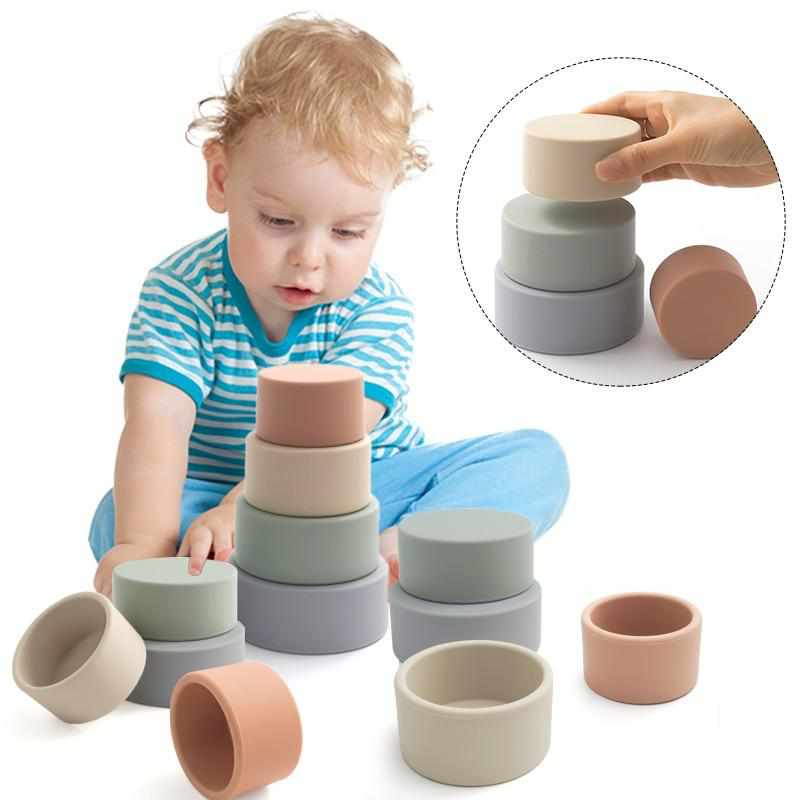 Baby and Toddler Stacking Toys