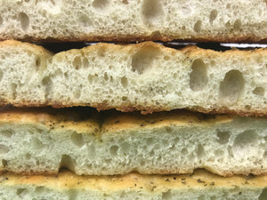 Focaccia Order Due By 11/20