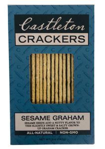 Sesame Graham Flour Cracker