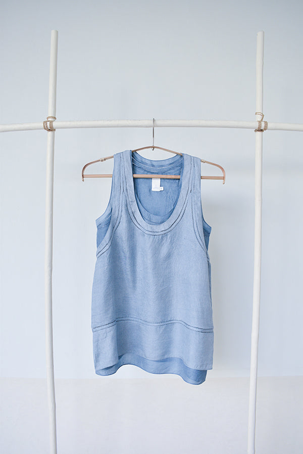 Silk Double Tank Top