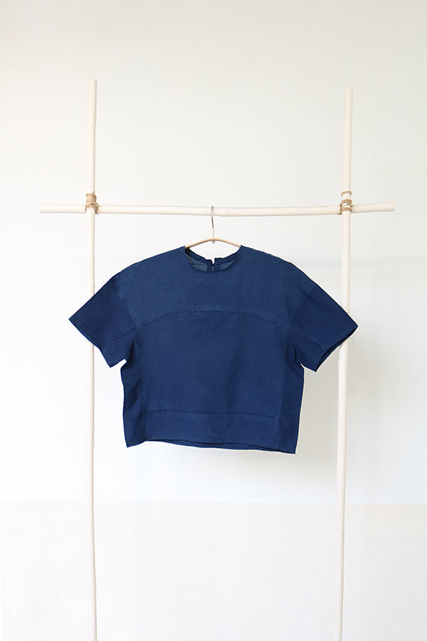 Multi Stitch T-shirt In Shade 5