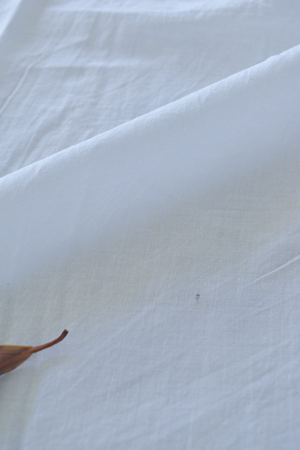 300s Handloom Cotton (White)
