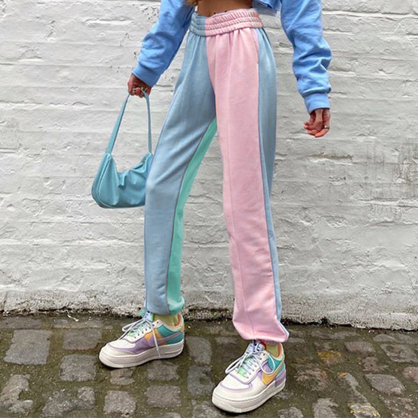 bubblegum half and half pants