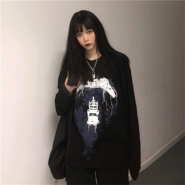 Oversized Metallica T-shirt