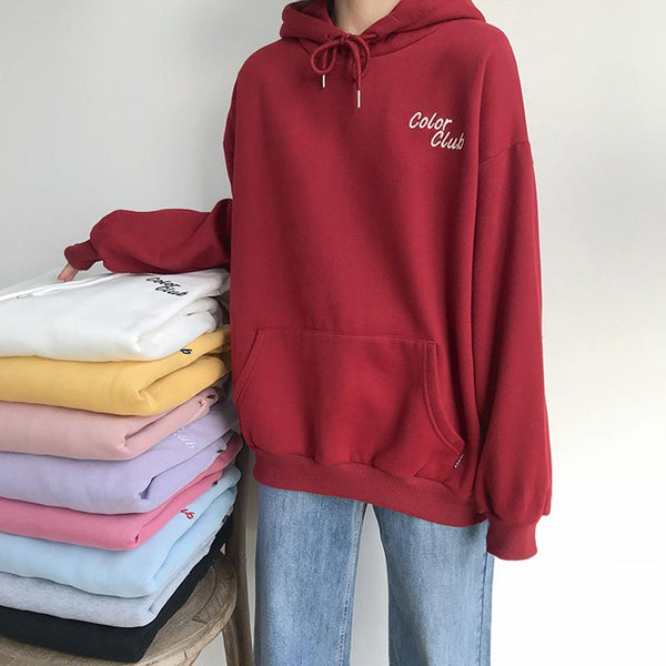 Color Club Oversized Hoodie
