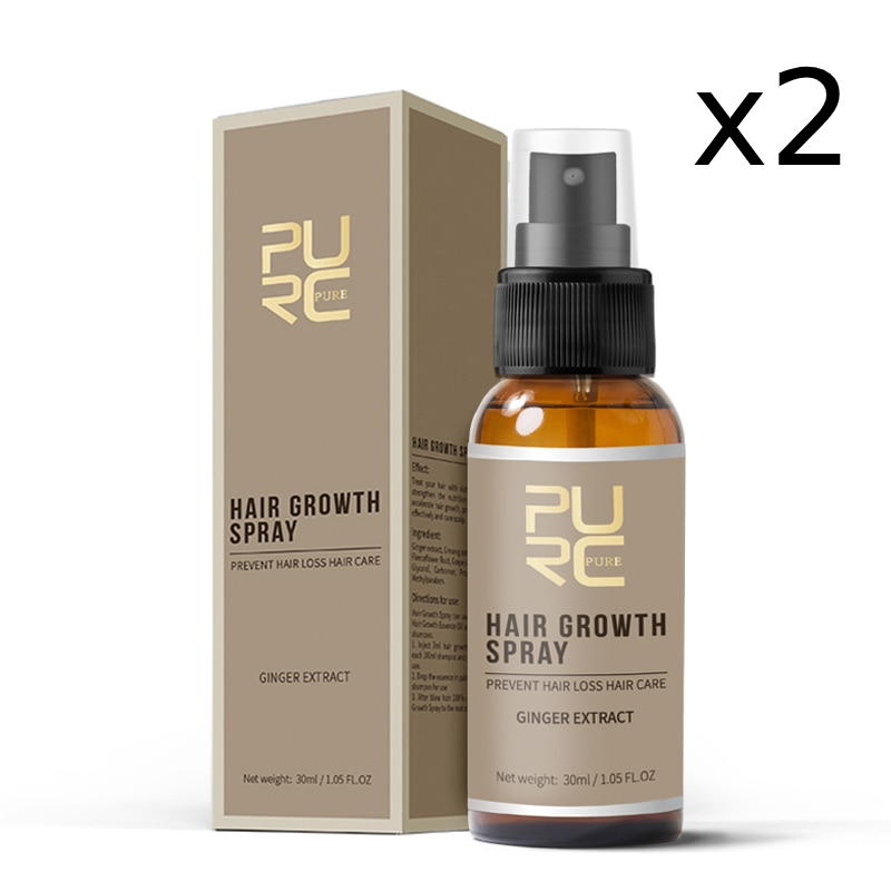 Fast Hair Growth Spray x2