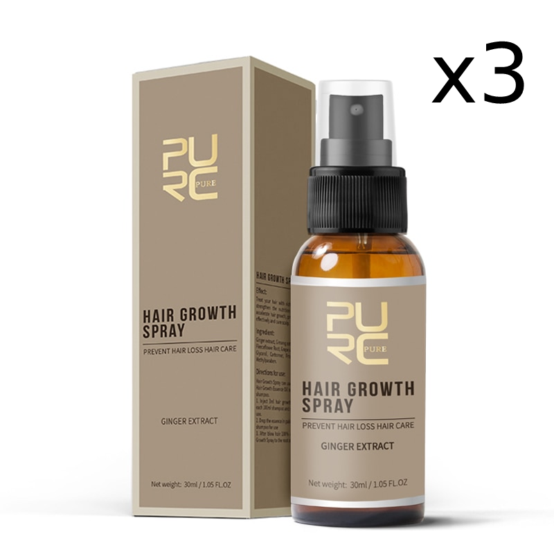Fast Hair Growth Spray x3