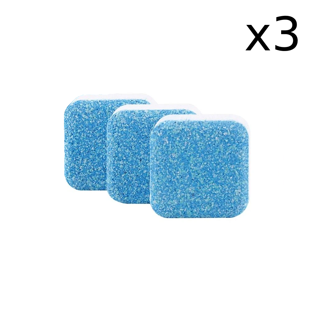 Antibacterial Washing Machine Tablets x3