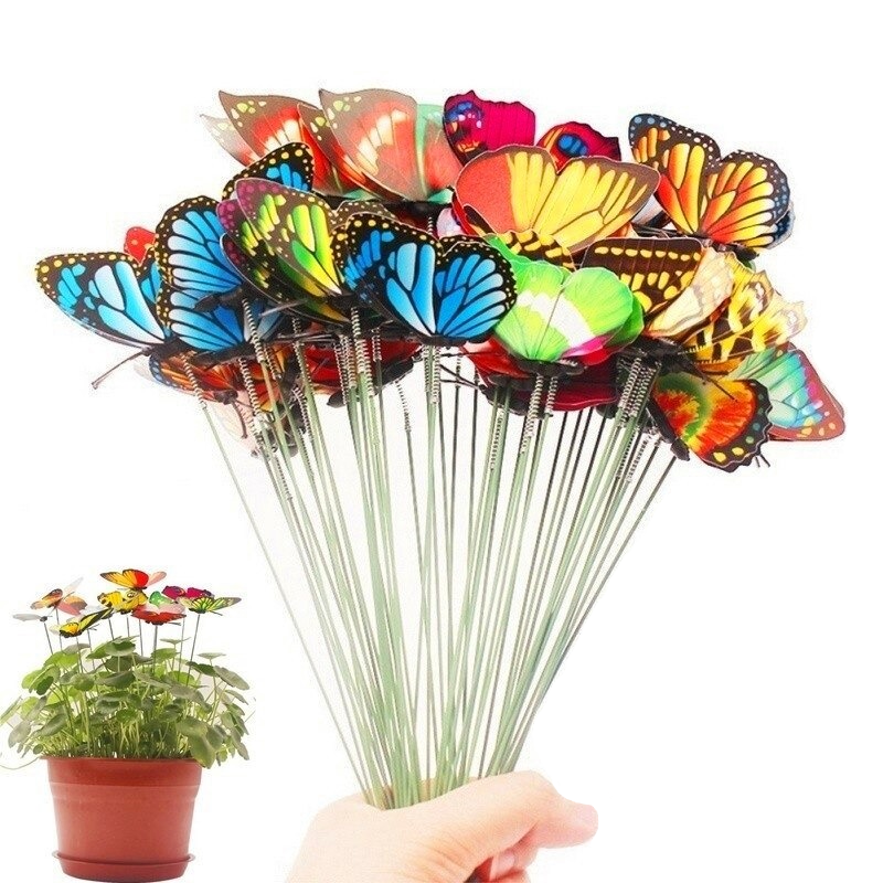Butterfly Stakes Decoration