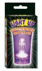 Light Up Shot Glass With Penis