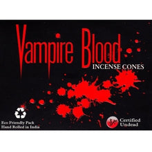 Load image into Gallery viewer, Vampire Blood Incense Cones