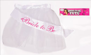 Bride-to-be Tutu White