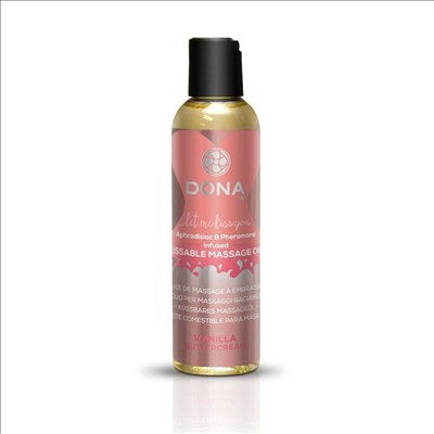 Dona Kissable Massage Oil Vanilla Buttercream 4oz/118ml