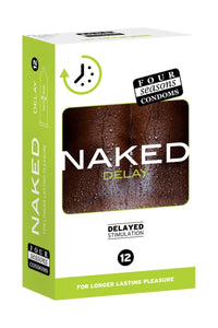Four Seasons 12 Naked Delay Condoms