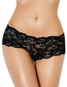 Lace Knickers Black (16) 2xl