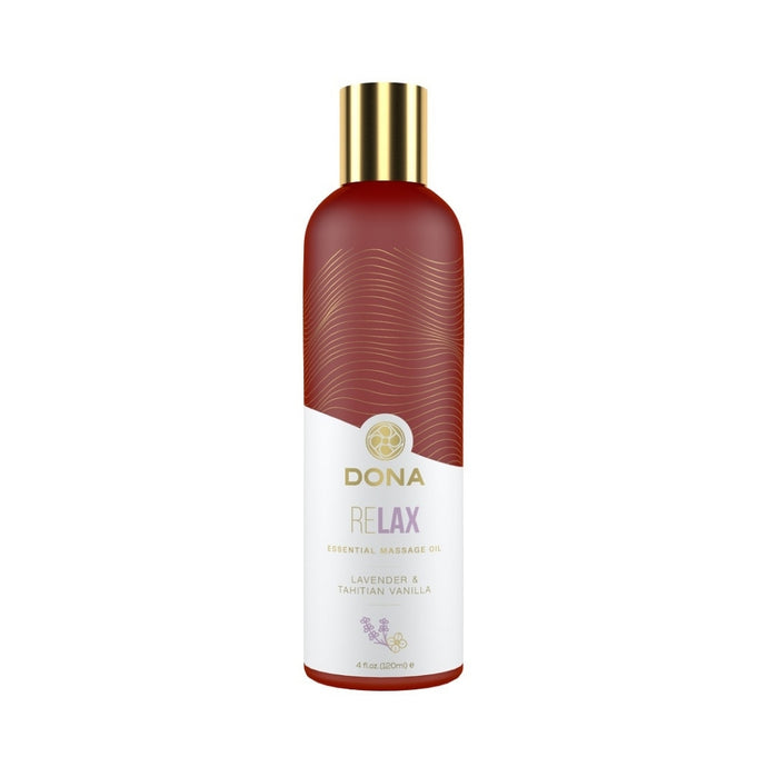 Dona Essential Massage Oil Relax - Lavender & Tahitian Vanilla 120ml